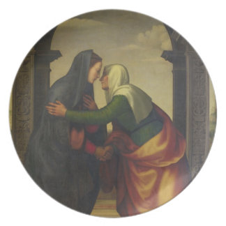 The Visitation of St. Elizabeth to the Virgin Mary Plate