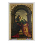 The Visitation of St. Elizabeth to the Virgin Mary Print