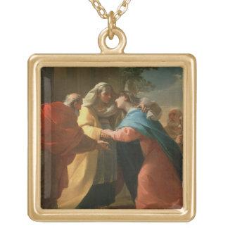 The Visitation oil on canvas Custom Jewelry