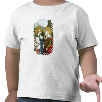 The Visitation oil on panel T Shirts