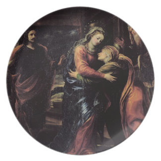 The Visitation Party Plate