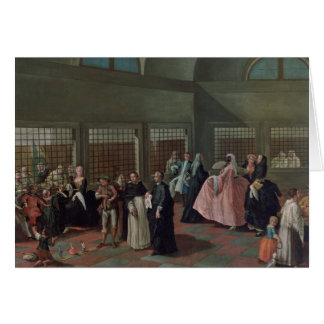 The Visiting Parlour in the Convent Card