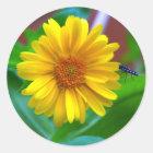The Visitor Classic Round Sticker