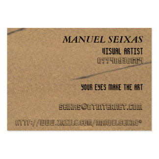 The Visual Artist Pack Of Chubby Business Cards