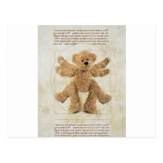The Vitruvian Bear Postcard