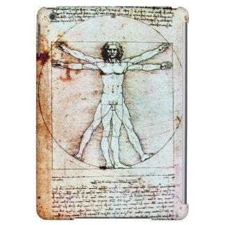 THE VITRUVIAN MAN , Brown Parchment