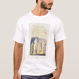 'The Voice of the Ancient Bard', plate 31 from 'So T-Shirt