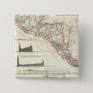 The volcanic series of Guatemala 15 Cm Square Badge