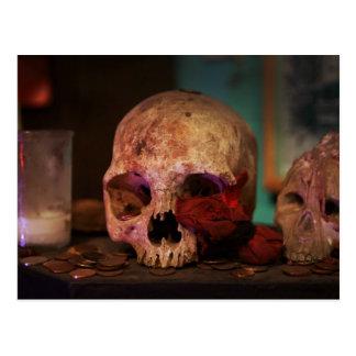 The Voodoo Ritual Postcard