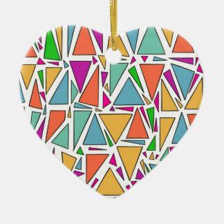 The vortex ceramic heart decoration