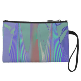 """The Vortex"" Print Clutch- by Carol Zeock Wristlet"