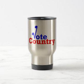 The Vote Country Travel Mug