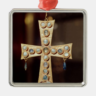 The Votive crown of a Visigoth king Christmas Ornament
