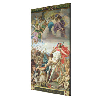 The Vow of Clovis Canvas Print