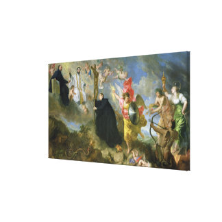 The Vows of Saint Aloysius of Gonzaga Gallery Wrapped Canvas