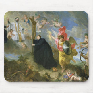 The Vows of Saint Aloysius of Gonzaga Mouse Mat