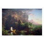 The Voyage of Life - Childhood by Thomas Cole Poster