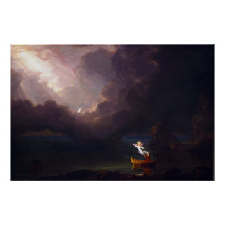 The Voyage of Life Old Age by Thomas Cole Poster
