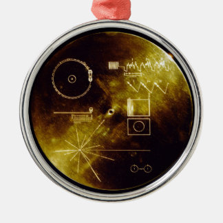 The Voyager Golden Record Christmas Ornament
