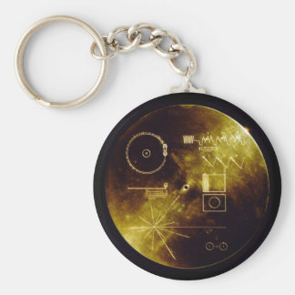 The Voyager Golden Record Key Ring