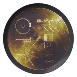 The Voyager Golden Record Plate