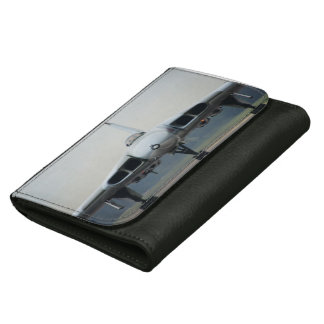 The Vulcan on leather wallet