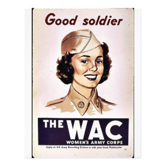 The Wac Womens Army Corps Personalized Flyer