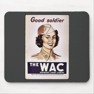 The Wac Womens Army Corps Mouse Pads