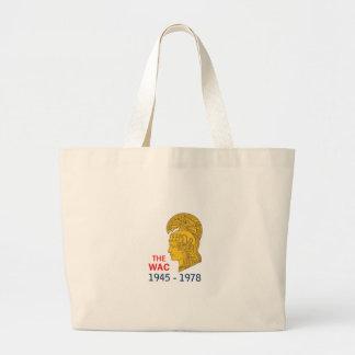 The WAC Years Jumbo Tote Bag