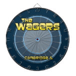 The Wagers Family Dart Board