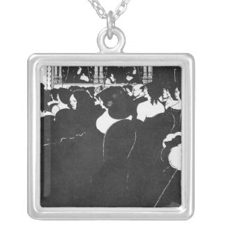 The Wagnerites Silver Plated Necklace