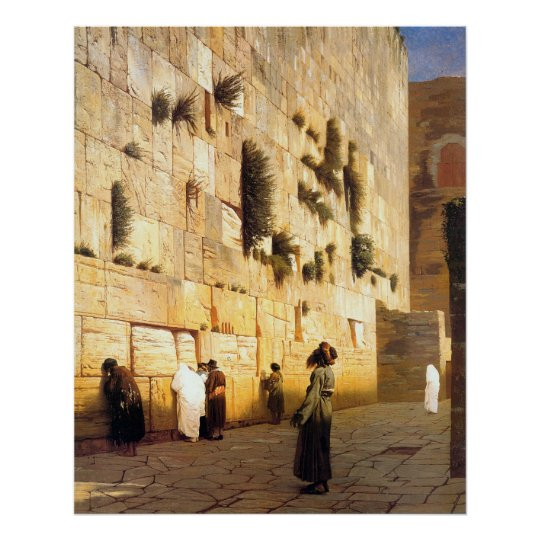 The Wailing Wall Poster