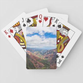 The Waimea Canyon Playing Cards
