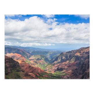 The Waimea Canyon Postcard