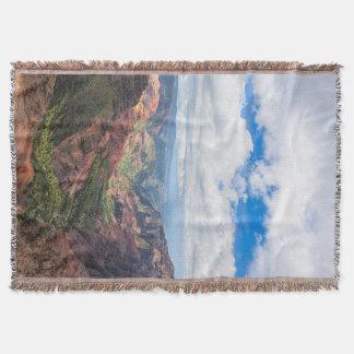 The Waimea Canyon Throw Blanket