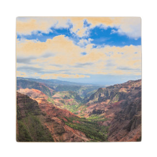 The Waimea Canyon Wood Coaster
