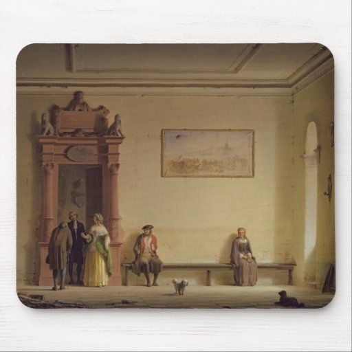 The Waiting Room, 1857 Mouse Pads