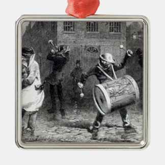 The Waits - or Making the Most of it' Christmas Ornament