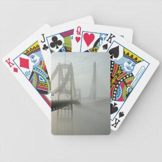The Waldo Hancock and Penobscot Narrows Bridges Bicycle Playing Cards