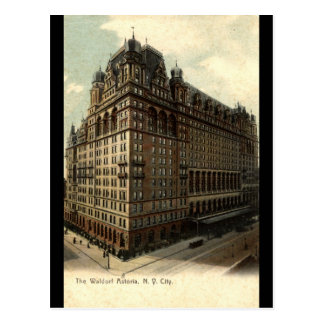 The Waldorf Astoria, New York City 1908 Vintage Postcard