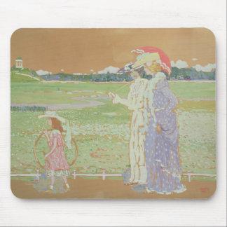 The Walk, 1903 Mouse Mat