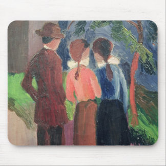 The Walk, 1914 Mouse Pads