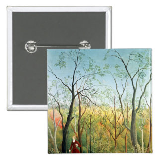 The Walk in the Forest, 1886-90 15 Cm Square Badge