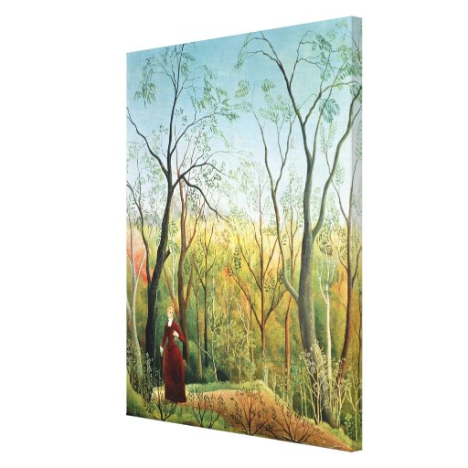 The Walk in the Forest, 1886-90 Gallery Wrap Canvas