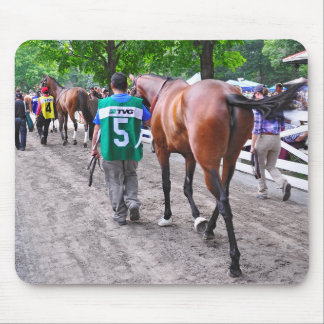 The Walk to the Paddock Mouse Pads