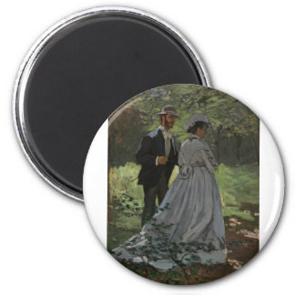 The Walkers (1865) 6 Cm Round Magnet