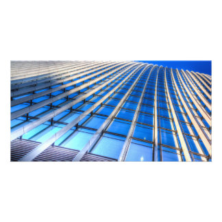 The Walkie Talkie Abstract Custom Photo Card