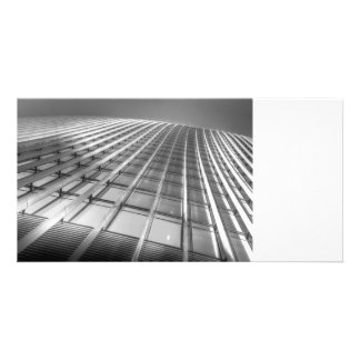 The Walkie Talkie Abstract Personalised Photo Card
