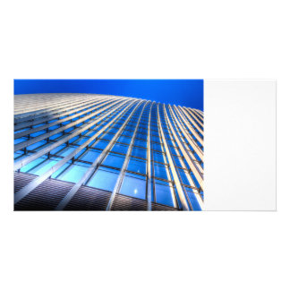 The Walkie Talkie Abstract Personalized Photo Card