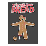 The Walking Dead Gingerbread man Greeting Card